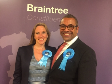 James Cleverly Re-elected