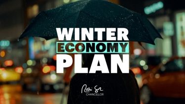 Chancellor of the Exchequer, Rishi Sunak on the Winter Economy Plan